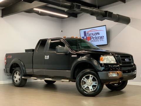 2005 Ford F-150 for sale at Texas Prime Motors in Houston TX
