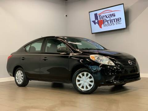 2013 Nissan Versa for sale at Texas Prime Motors in Houston TX