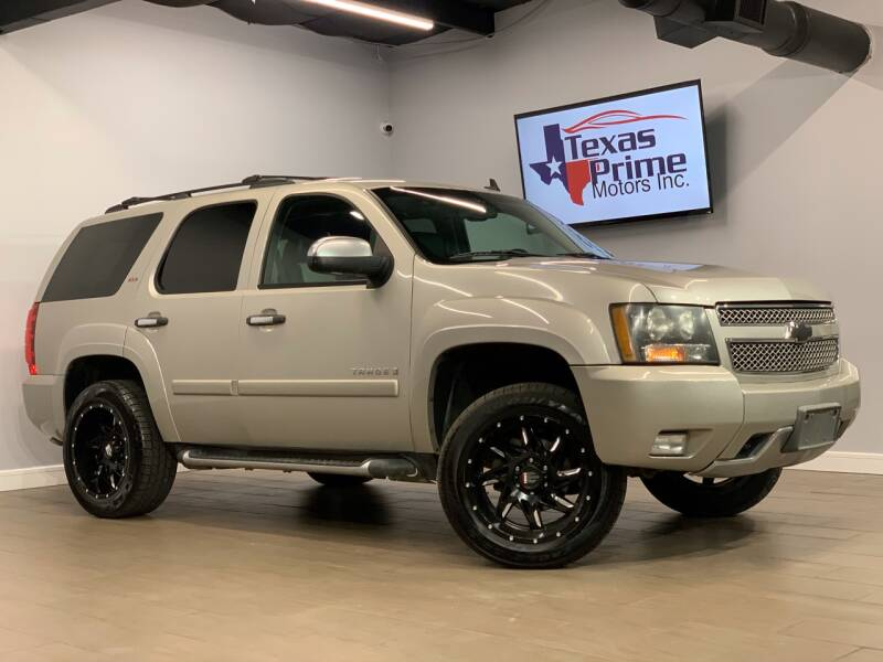 2008 Chevrolet Tahoe for sale at Texas Prime Motors in Houston TX