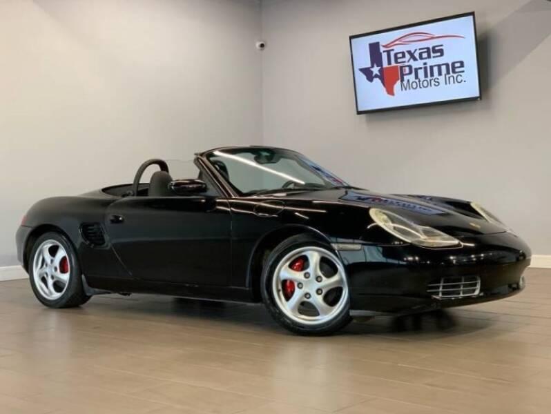 1998 Porsche Boxster for sale at Texas Prime Motors in Houston TX