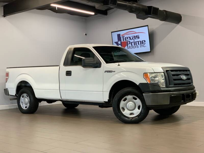 2009 Ford F-150 for sale at Texas Prime Motors in Houston TX
