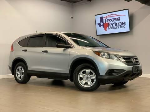 2014 Honda CR-V for sale at Texas Prime Motors in Houston TX