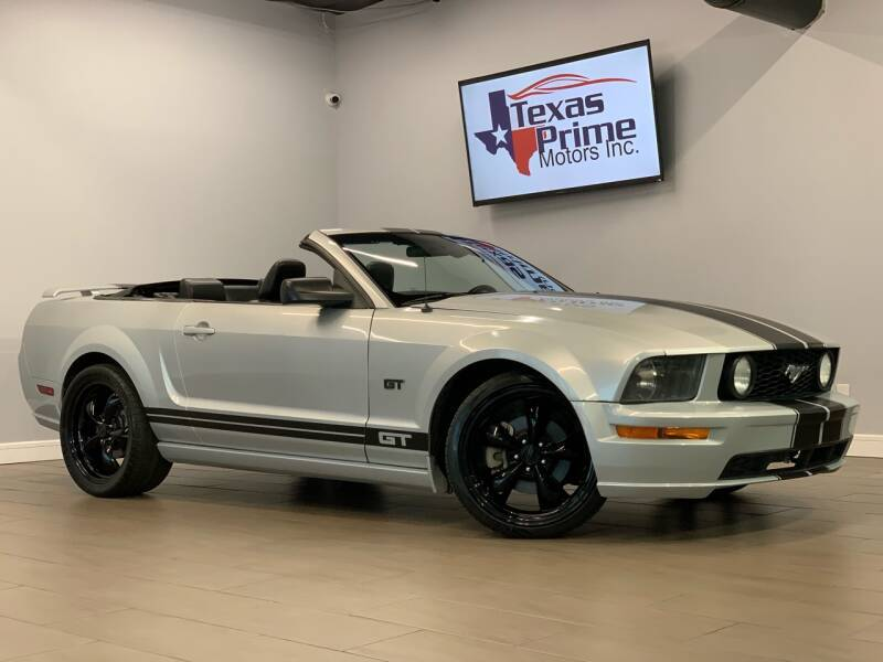 2005 Ford Mustang for sale at Texas Prime Motors in Houston TX