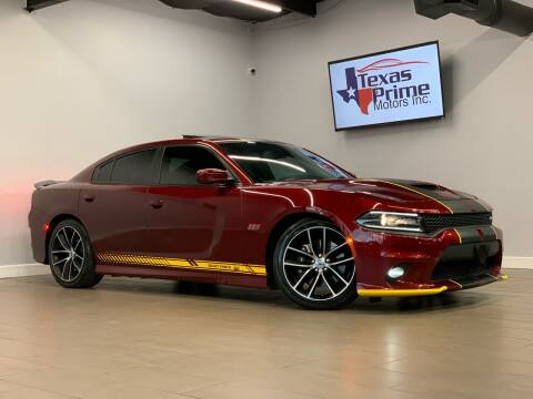 2018 Dodge Charger for sale at Texas Prime Motors in Houston TX