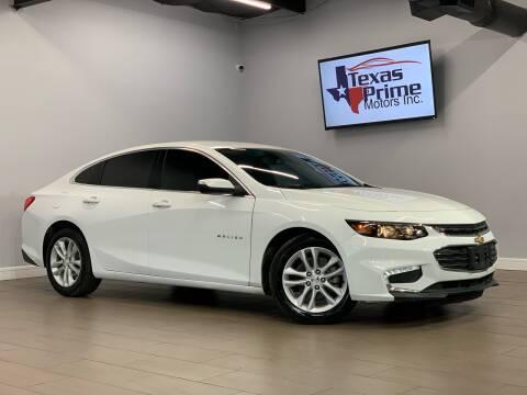 2017 Chevrolet Malibu for sale at Texas Prime Motors in Houston TX