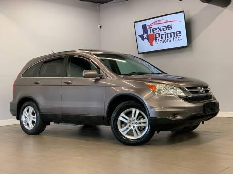 2010 Honda CR-V for sale at Texas Prime Motors in Houston TX