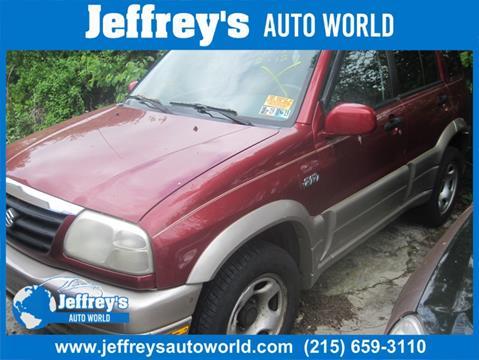 2002 Suzuki Grand Vitara for sale in Abington, PA