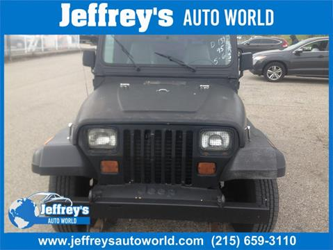 1995 Jeep Wrangler for sale in Abington, PA