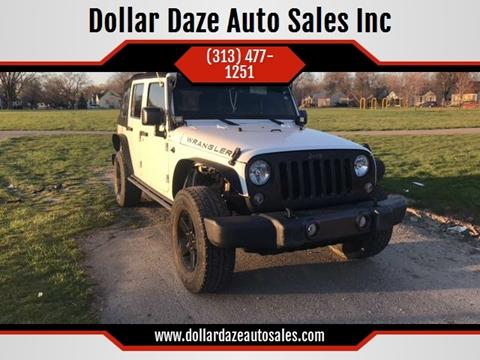 2016 Jeep Wrangler Unlimited for sale in Detroit, MI
