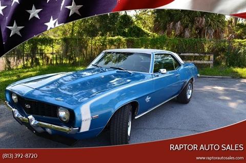 Used 1969 Chevrolet Camaro For Sale In Tampa Fl