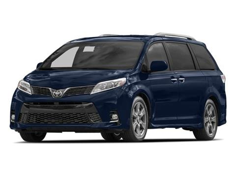 2018 Toyota Sienna for sale at TEJAS TOYOTA in Humble TX