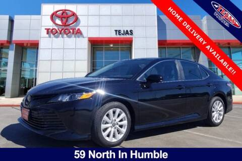 2020 Toyota Camry for sale at TEJAS TOYOTA in Humble TX