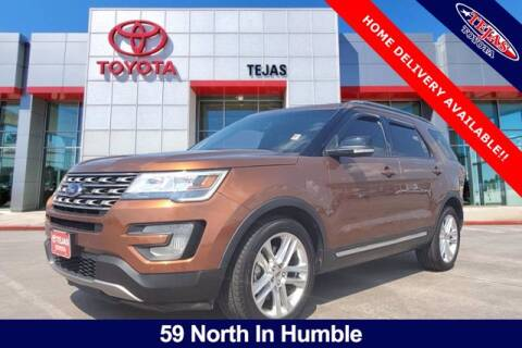 2017 Ford Explorer for sale at TEJAS TOYOTA in Humble TX