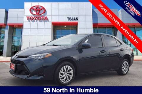 2018 Toyota Corolla for sale at TEJAS TOYOTA in Humble TX
