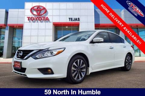 2017 Nissan Altima for sale at TEJAS TOYOTA in Humble TX