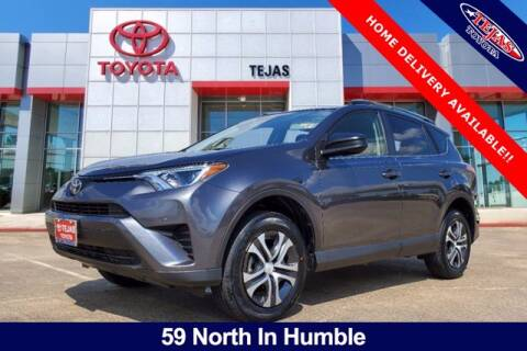 2017 Toyota RAV4 for sale at TEJAS TOYOTA in Humble TX