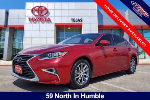 2016 Lexus ES 300h for sale at TEJAS TOYOTA in Humble TX