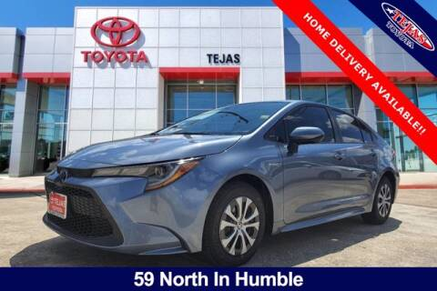 2021 Toyota Corolla Hybrid for sale at TEJAS TOYOTA in Humble TX