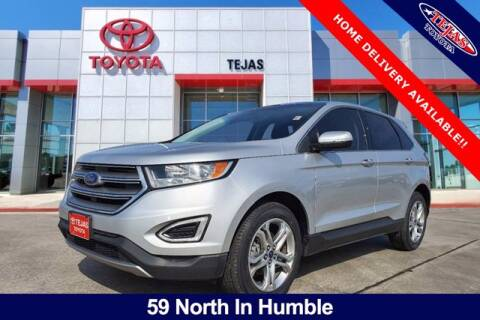 2017 Ford Edge for sale at TEJAS TOYOTA in Humble TX