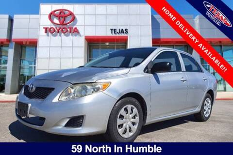 2009 Toyota Corolla for sale at TEJAS TOYOTA in Humble TX
