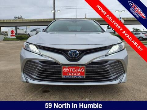 2018 Toyota Camry Hybrid for sale at TEJAS TOYOTA in Humble TX