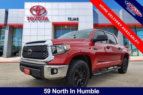 2021 Toyota Tundra for sale at TEJAS TOYOTA in Humble TX