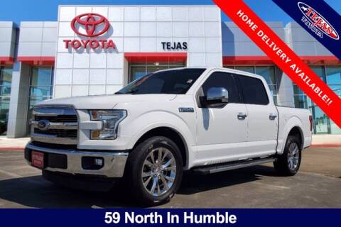 2016 Ford F-150 for sale at TEJAS TOYOTA in Humble TX