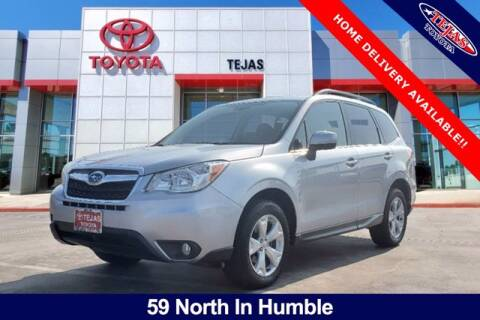 2015 Subaru Forester for sale at TEJAS TOYOTA in Humble TX