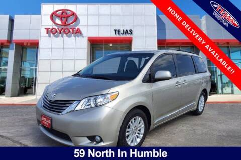 2017 Toyota Sienna for sale at TEJAS TOYOTA in Humble TX