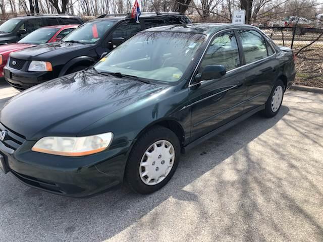 Good 2001 Honda Accord For Sale At Rebels Auto In Kansas City MO