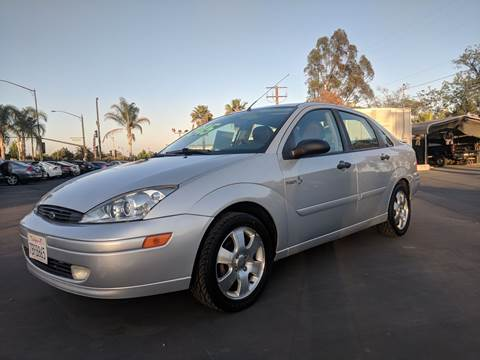2002 Ford Focus for sale at First Shift Auto in Ontario CA