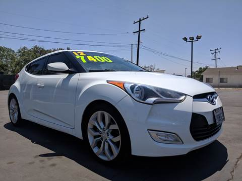 2012 Hyundai Veloster for sale at First Shift Auto in Ontario CA