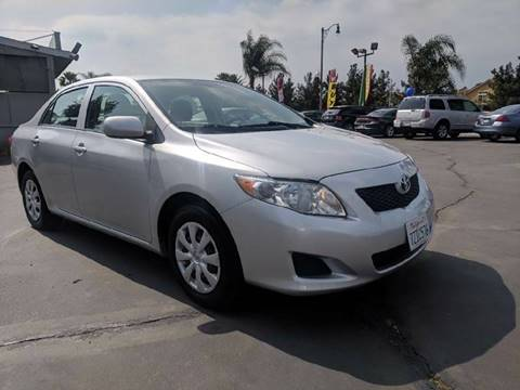 2009 Toyota Corolla for sale at First Shift Auto in Ontario CA