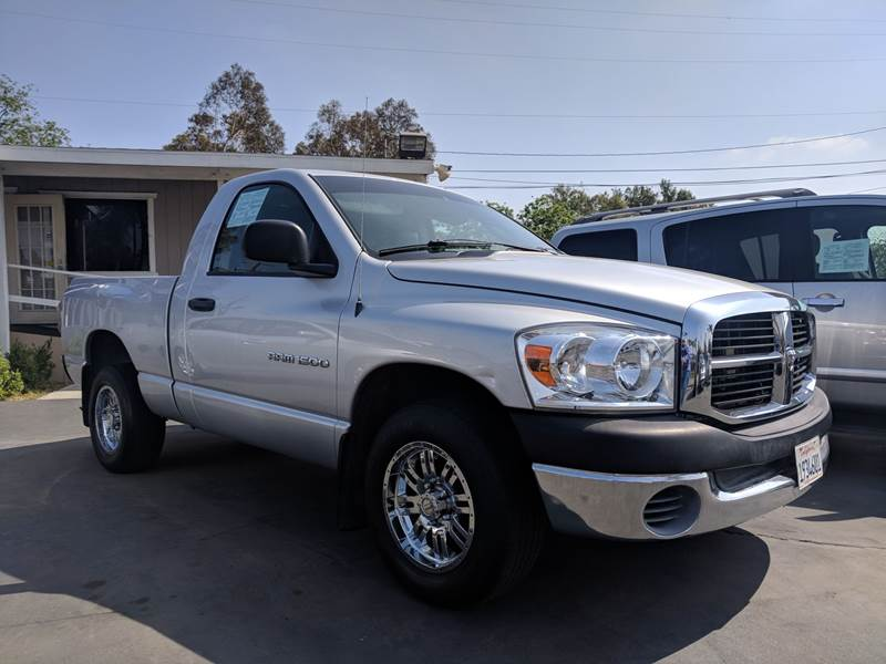 2007 Dodge Ram Pickup 1500 for sale at First Shift Auto in Ontario CA