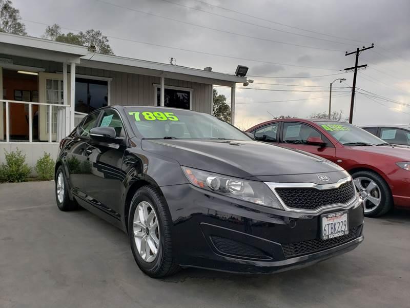 2011 Kia Optima For Sale At First Shift Auto In Fontana CA