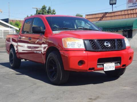 2009 Nissan Titan for sale at First Shift Auto in Ontario CA