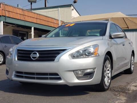 2014 Nissan Altima for sale at First Shift Auto in Ontario CA