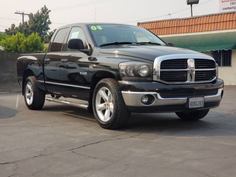 2008 Dodge Ram Pickup 1500 for sale at First Shift Auto in Ontario CA