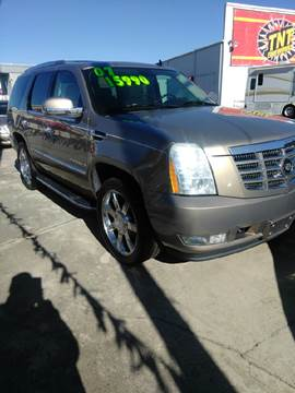 2007 Cadillac Escalade for sale at AUTOPLEX 528 LLC in Huntsville AL