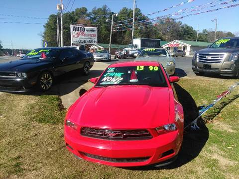 2012 Ford Mustang for sale at AUTOPLEX 528 LLC in Huntsville AL