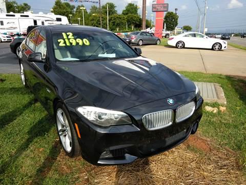 2012 BMW 5 Series for sale at AUTOPLEX 528 LLC in Huntsville AL