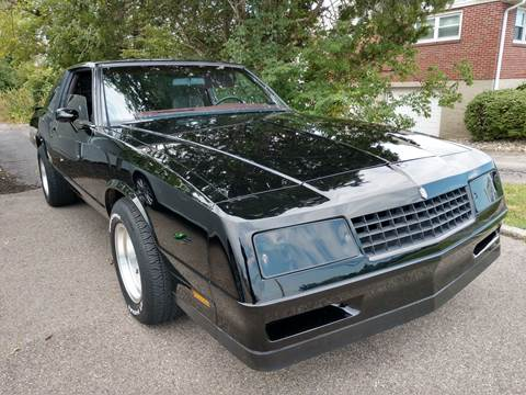 Used 1985 Chevrolet Monte Carlo For Sale Carsforsale Com