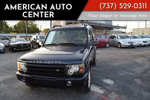 american auto center used cars austin tx dealer