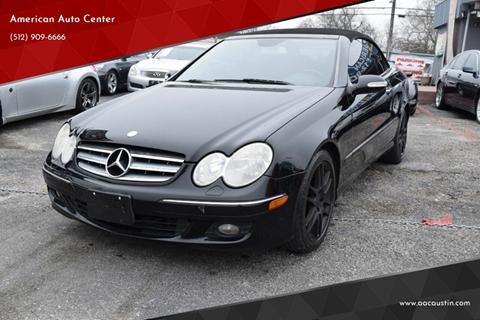 Mercedes Of Austin >> Mercedes Benz Clk For Sale In Austin Tx American Auto Center