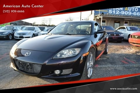 2005 Mazda RX-8 for sale at American Auto Center in Austin TX