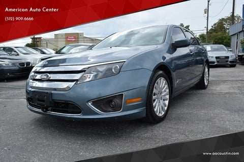 2011 Ford Fusion Hybrid for sale in Austin, TX