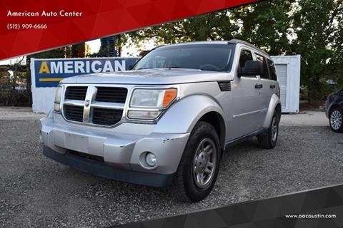 2011 Dodge Nitro for sale at American Auto Center in Austin TX