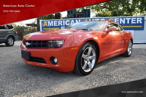 2012 Chevrolet Camaro for sale at American Auto Center in Austin TX