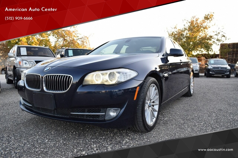 2011 BMW 5 Series for sale at American Auto Center in Austin TX