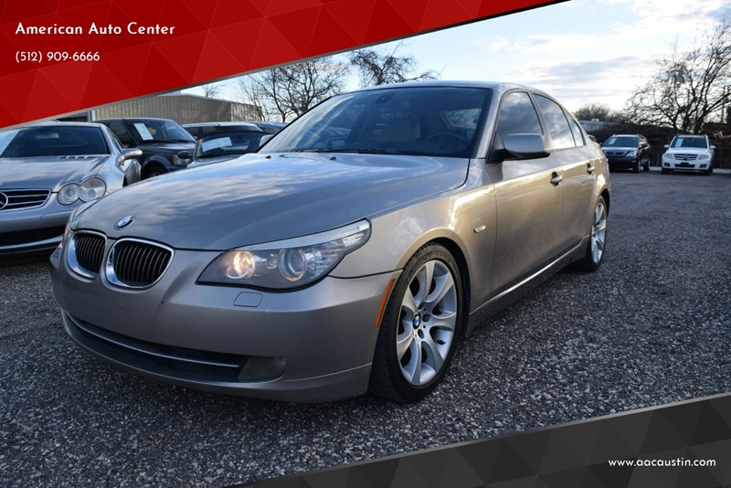 2009 BMW 5 Series for sale at American Auto Center in Austin TX